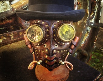 Masque à gaz homme Steampunk
