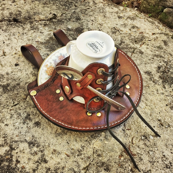 steampunk metal mug
