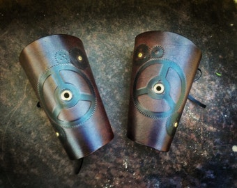 Gear Head Steampunk bracer