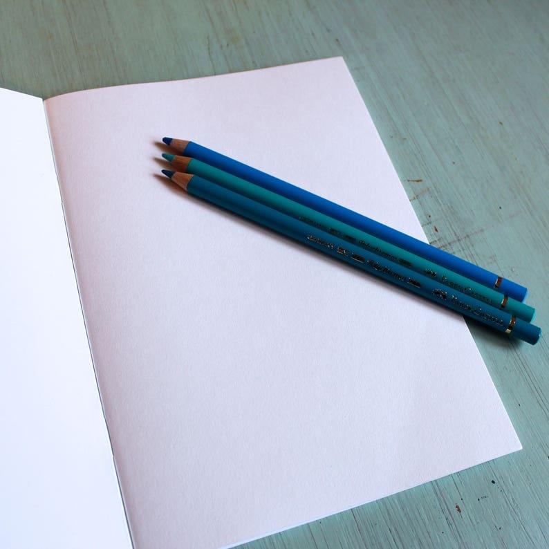 French Fancy A5 SketchbookNotebook