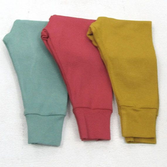 a1ce90b98 Hand Dyed Soild Color Infant pants; custom color baby joggers; solid color  baby girl leggings; solid color baby boy pants; plain baby pant