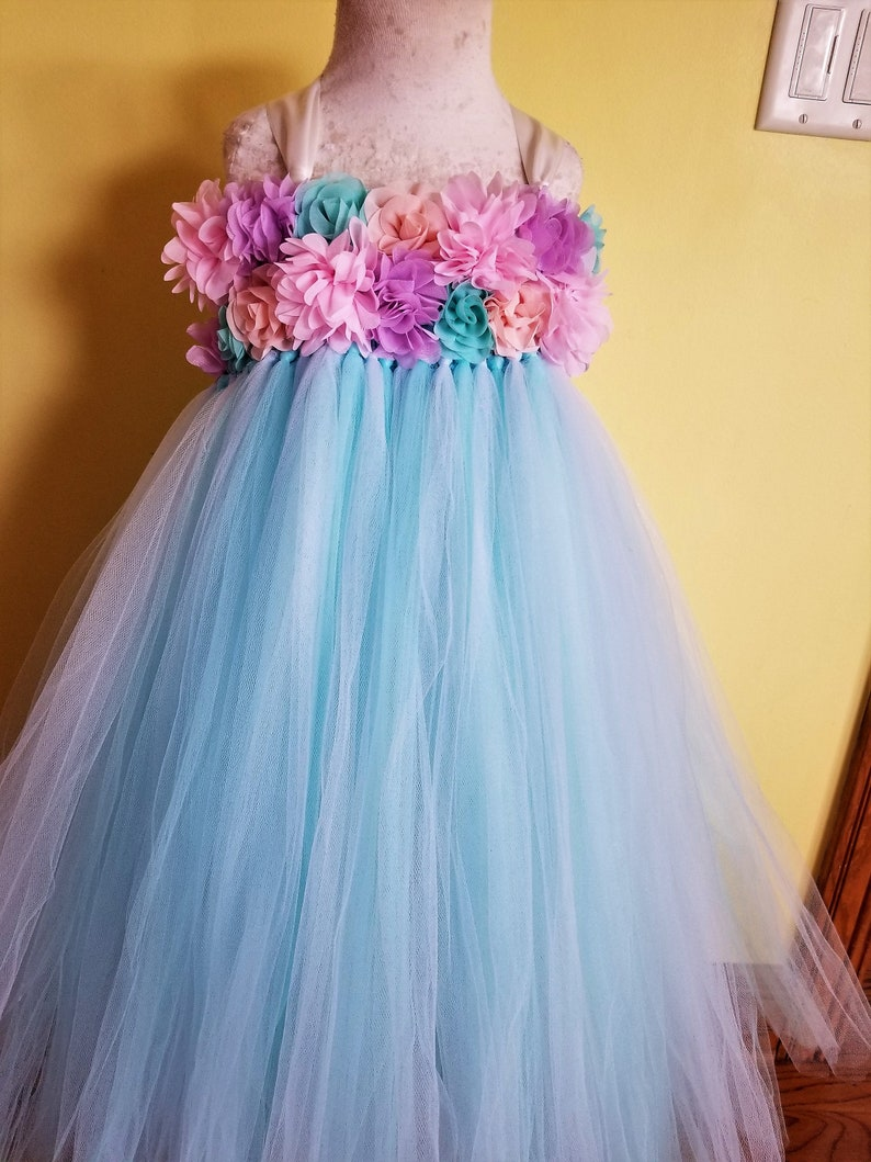 faa08e87f057 Pastel Purple Flower Girl Dresses