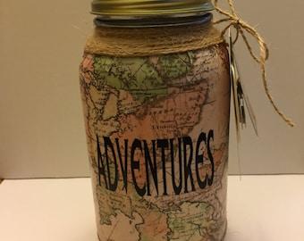 Vacation Fund Jar Etsy