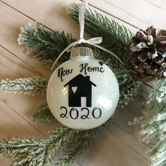 Home Sweet Home First Home New Home Christmas Ornament Personalized Christmas Ornament Christmas Picture Frame Ornament Christmas Gift