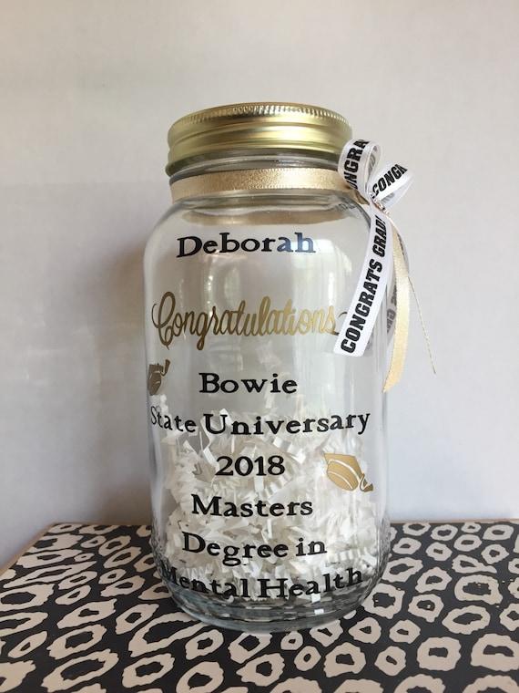 2020 Graduation Memory Jar Graduation Mason Jar Graduation Etsy