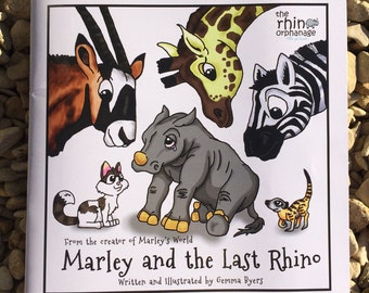 Marley And The Last Rhino Children's Book Supporting Charity The Rhino Orphanage