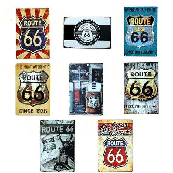 8X12/'/' Art Coffee Shop On Service 24 Hours Wall Retro Tin Sign Ad sticker Custom