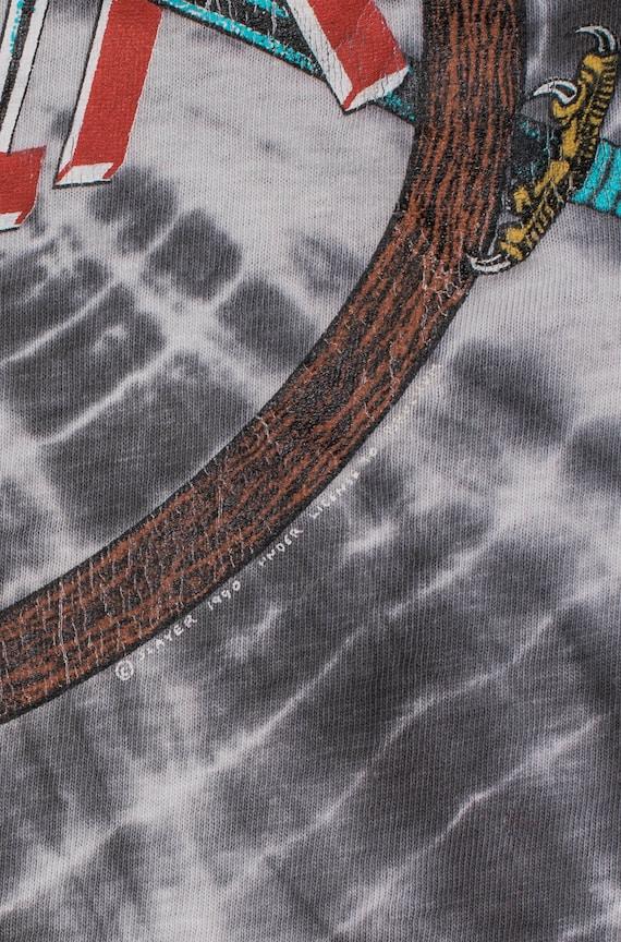 Vintage 1990 Slayer Tie Dye T-Shirt - image 3