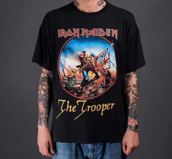 Vintage 1997 Iron Maiden The Trooper T-Shirt