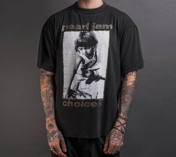 Vintage 1992 Pearl Jam Choices T-Shirt
