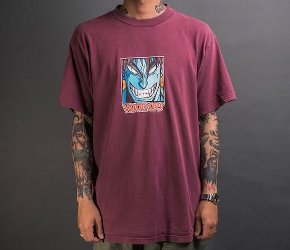 Vintage 90's Hook-Ups Skateboards Devilman T-Shirt