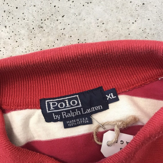 Vintage 80's Polo Ralph Lauren Rugby Polo - image 3