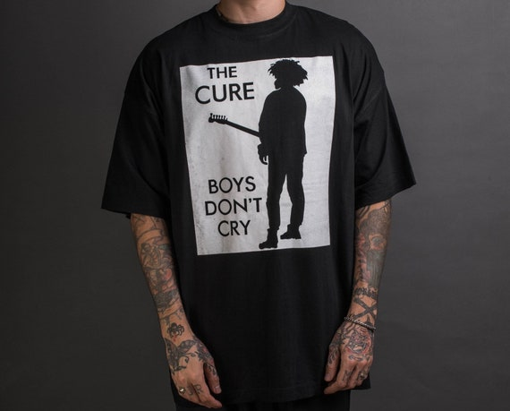 Vintage 90's The Cure Boys Don't Cry Boot T-Shirt