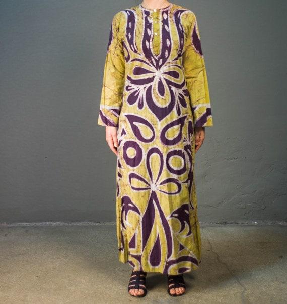 Vintage 70's Tye Dye Dress