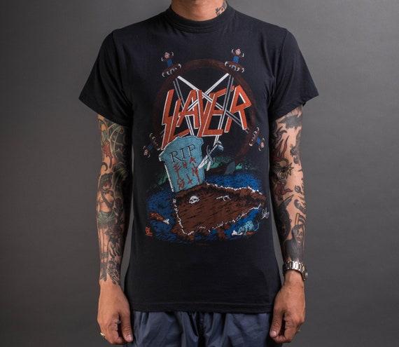 Vintage 1987 Slayer Reign in Blood Tour T-Shirt