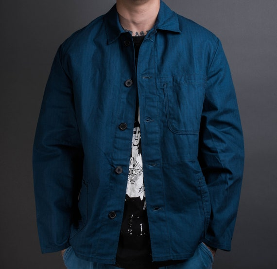 Vintage 80's French Workwear Jacket