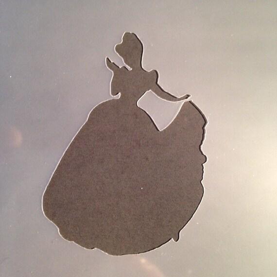 Disney Prinzessin Schablone Cinderella Handwerk Kontur Mädchen | Etsy