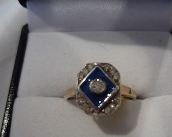 Art Deco Diamond Ring,