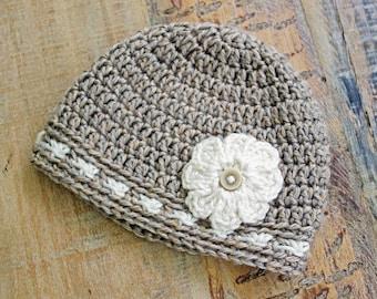 Instant Download -Crochet Hat Pattern, Crochet Baby Hat Pattern, Crochet Beanie Pattern, Easy Crochet Pattern Printable Pdf Files