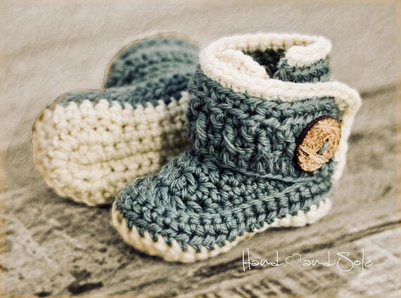 Crochet Pattern Crochet Booties Pattern Booties Pattern For Etsy