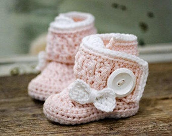 Crochet Pattern Crochet Booties Pattern Crochet Baby Booties Etsy