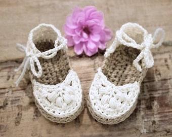 Crochet Pattern, Crochet Booties Pattern, Baby Booties Pattern, Crochet Baby Booties Pattern for Baby Girl, Crochet Espadrilles Pattern