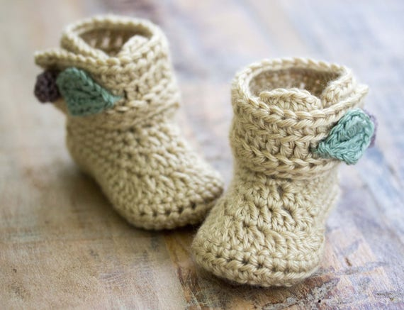 Crochet Pattern Crochet Booties Pattern Baby Booties Etsy