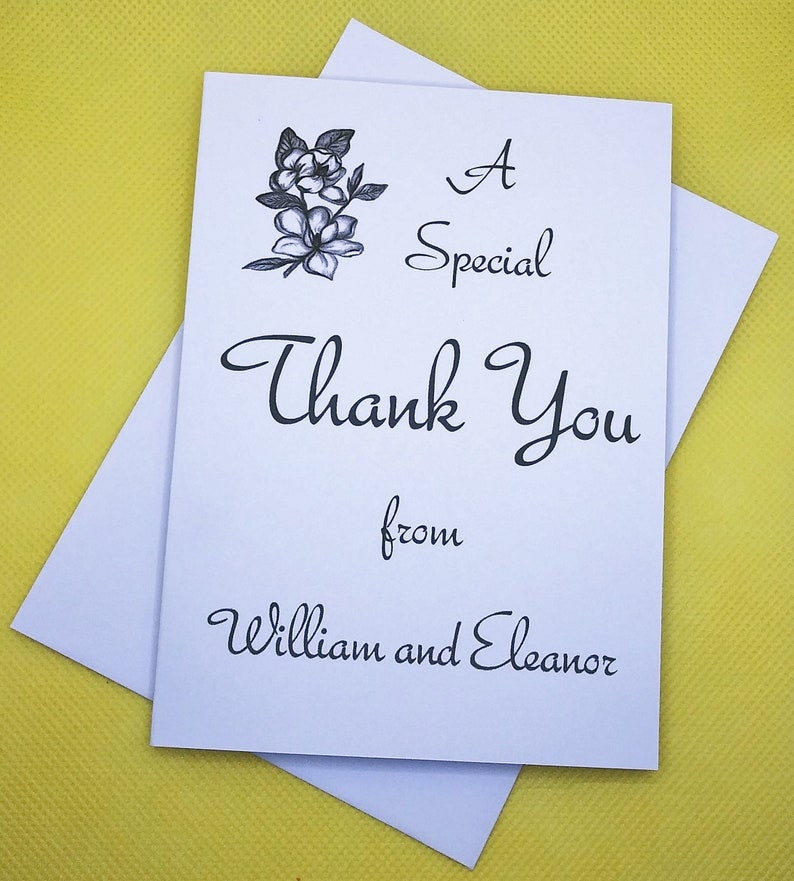 thank you cards  personalized thank you cards  magnolia
