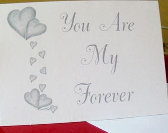 Valentine Greeting Cards / Love Greeting Cards / Blank Cards / Love Note Cards / Just Because Greeting Cards / Art