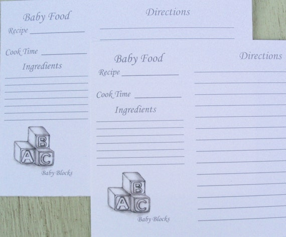 Recipe cards baking recipe cards cooking recipe cards baby sold by loraartandstationery forumfinder Choice Image