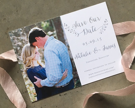 Laurel Love Save the Date Cards