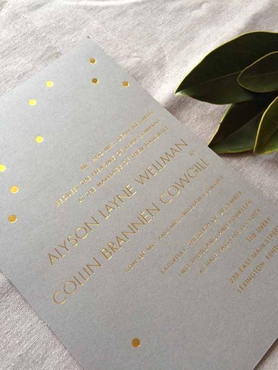 Gold Confetti Sample