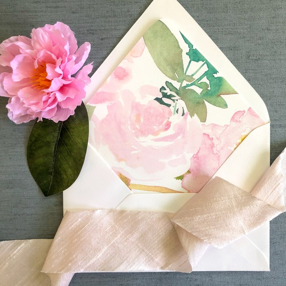 Blush Beauty Envelope Liners