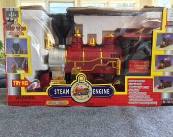 Bump-n-Go Steam Engine
