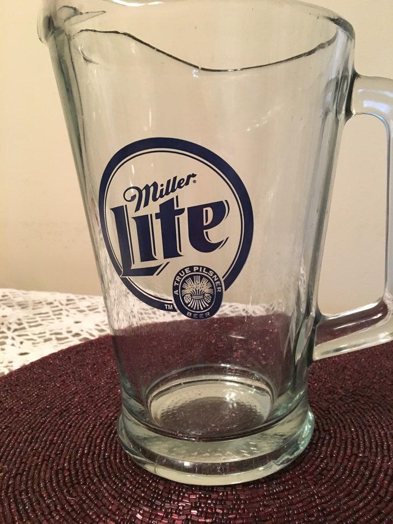 New 48 oz Miller Lite Beer Pitcher