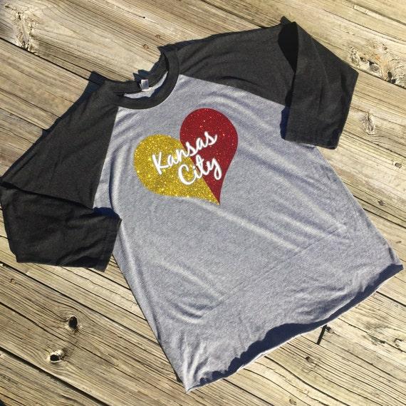 Kansas City KC Chiefs Baseball Tee T