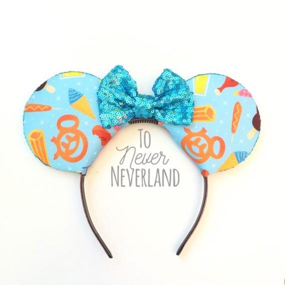 Disney Traite Les Oreilles De Mickey Disneyland Inspire Des Etsy