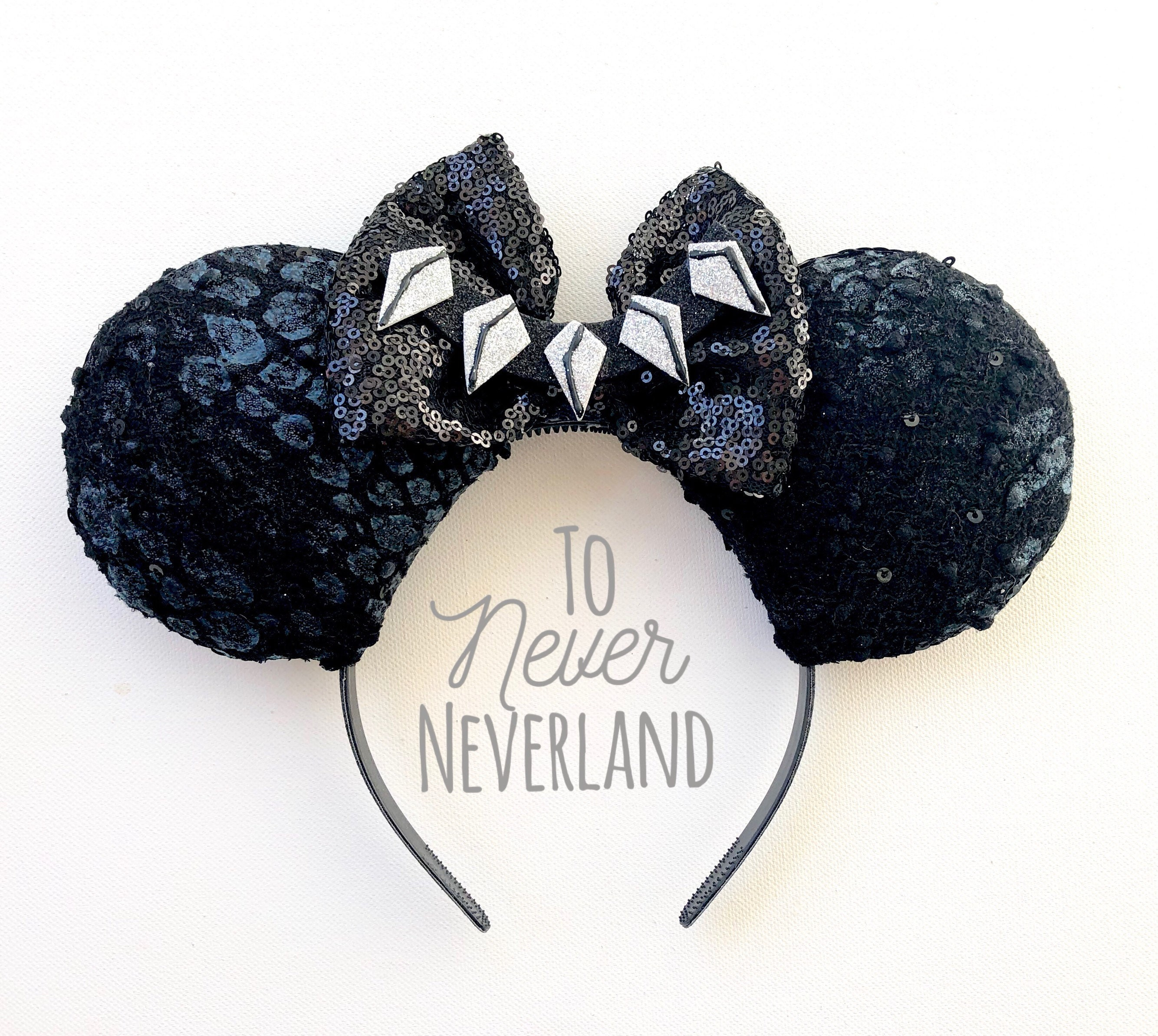 Black Panther Mickey Ears Black Panther Minnie Ears Marvel  97796bdd8ff