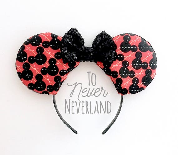 Argyle Oreilles De Mickey Disneyland Inspire Des Oreilles De Etsy