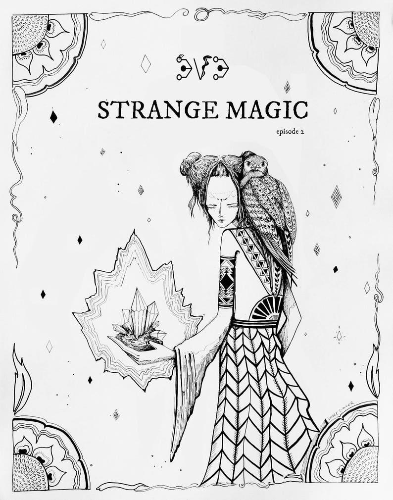 Strange Magic Zine image 0