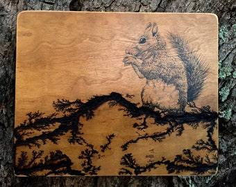 A Squirrel Wood
