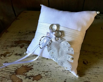 The distinguished ring bearer pillow