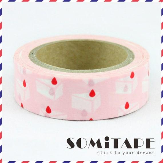Pink Zigzag Washi Tape Craft Decorative Tape