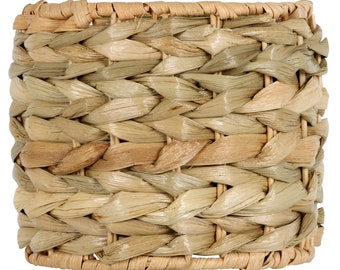 Seagrass lamp shade etsy seagrass 55inch drum clip on chandelier lamp shade aloadofball Image collections