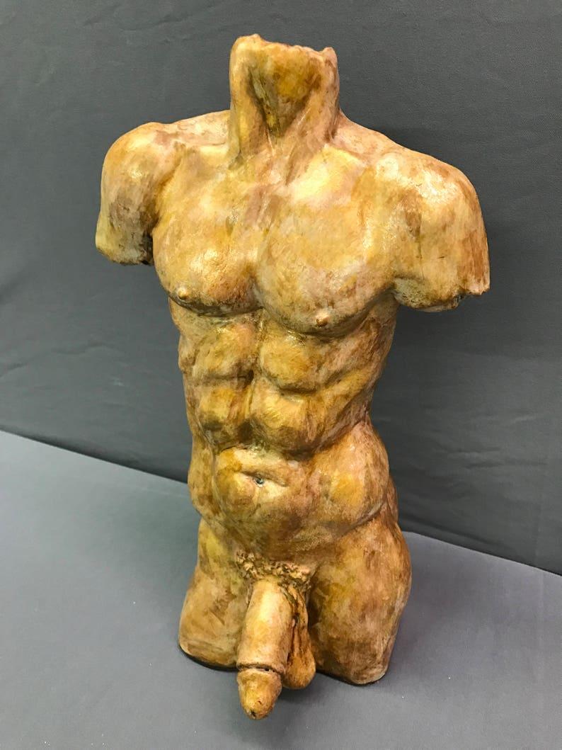 Grande cazzo muscolo attraente maschio