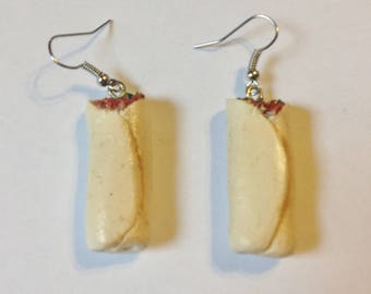 Burrito Earrings