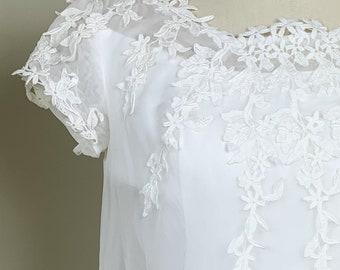 60ies Wedding Dress.60s Wedding Dress Etsy