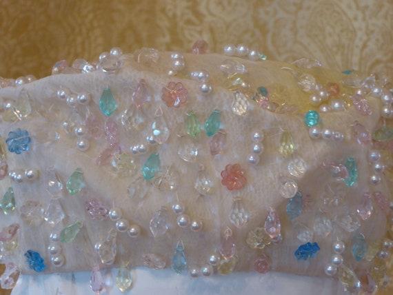 1950s Christian Dior Couture Bridal Hat / Vintage… - image 3