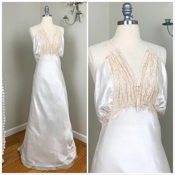 1930s Vintage Slip Dress | 1930s Vintage Lingerie