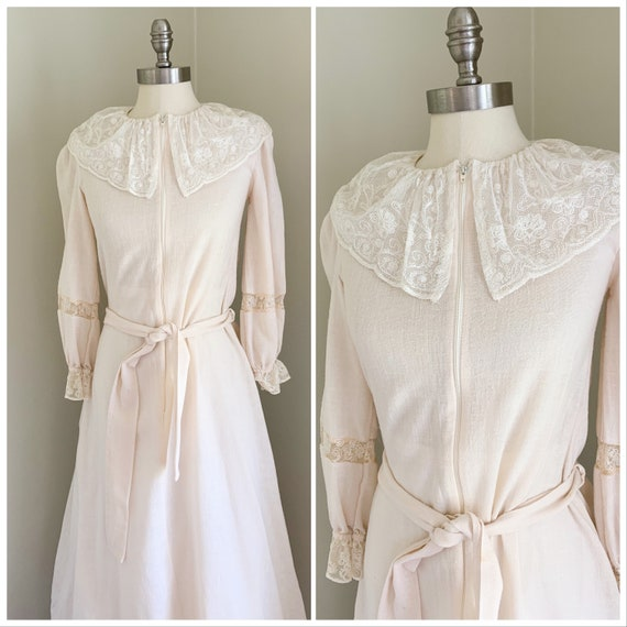 Vintage Bridal Dressing Gown | Robe for the Bride